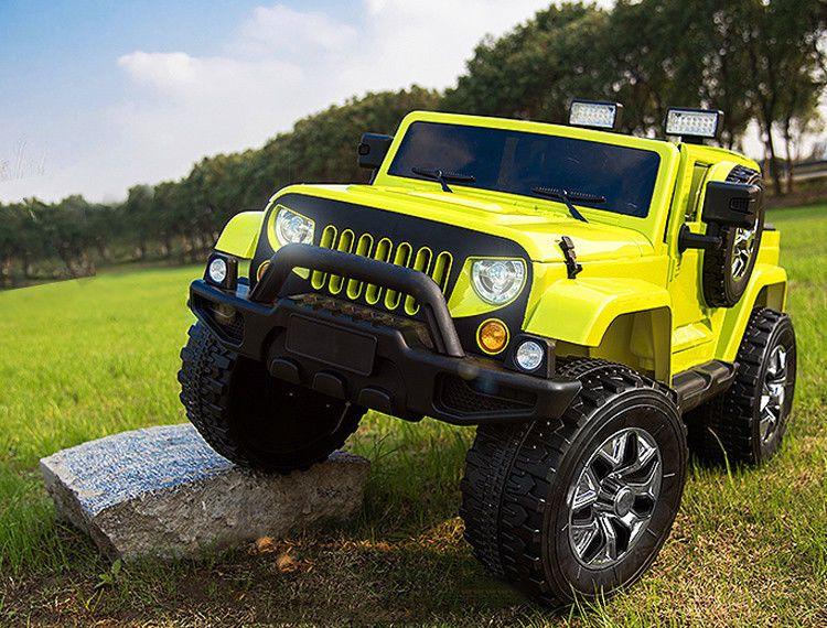 jeep jp elektro kinder auto suv gel ndewagen cabrio. Black Bedroom Furniture Sets. Home Design Ideas