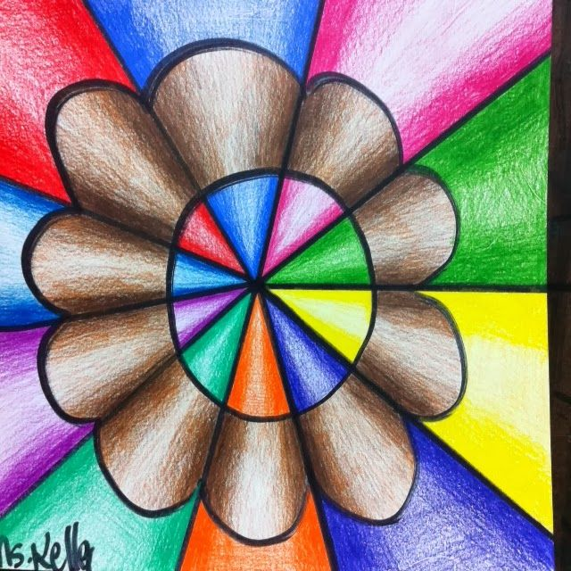 Colored Pencil Drawings Art Lessons Elementary Art Projects