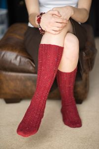 0fb8a85358a Timber Bridge Socks - from the Fall 2014 Issue of Love of Knitting magazine