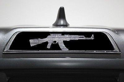 """(2016) TOYOTA THIRD BRAKE LIGHT DECAL """"AK47"""