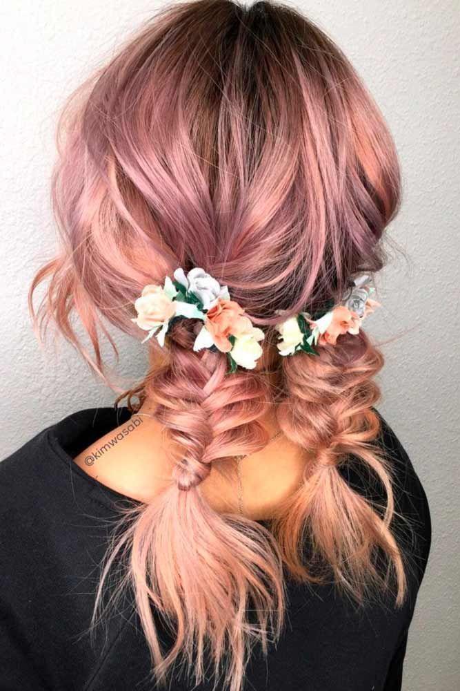 #strawberry blonde Braids