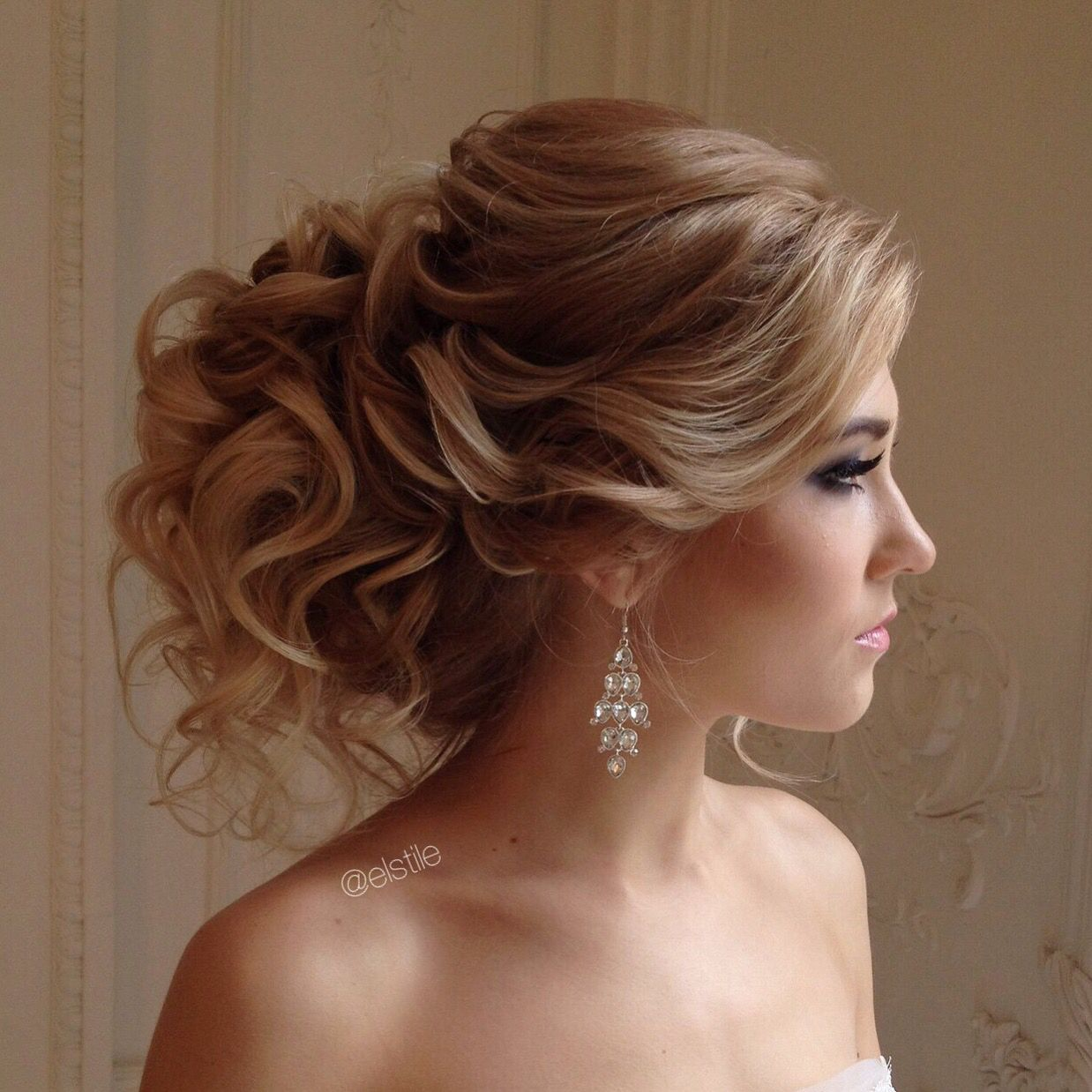 Lovely Bridal Look Make Up, Hairstyles Web: Www.elstile.ru