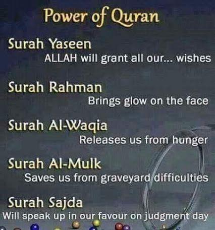 Power of Quran. More