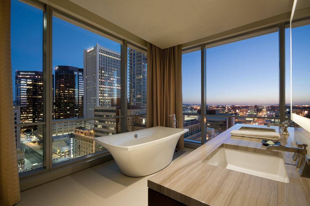 The Westin Phoenix Downtown Studio King Bathroom By Westin Hotels