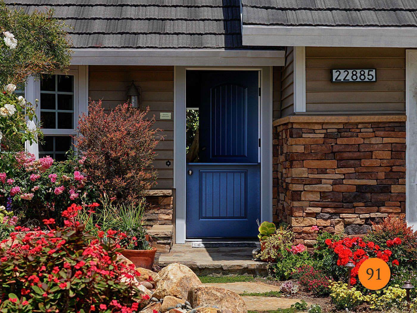 Cottage 36 X 80 Plastpro Drs2g Fiberglass Dutch Exterior Door With Shelf Installed