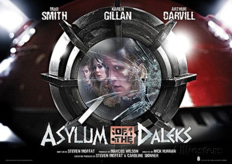 Doctor Who - Asylum Of Daleks Television Poster Masterprint at AllPosters.com