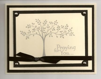 Thoughts and Prayers by mom2ejj - Cards and Paper Crafts at Splitcoaststampers
