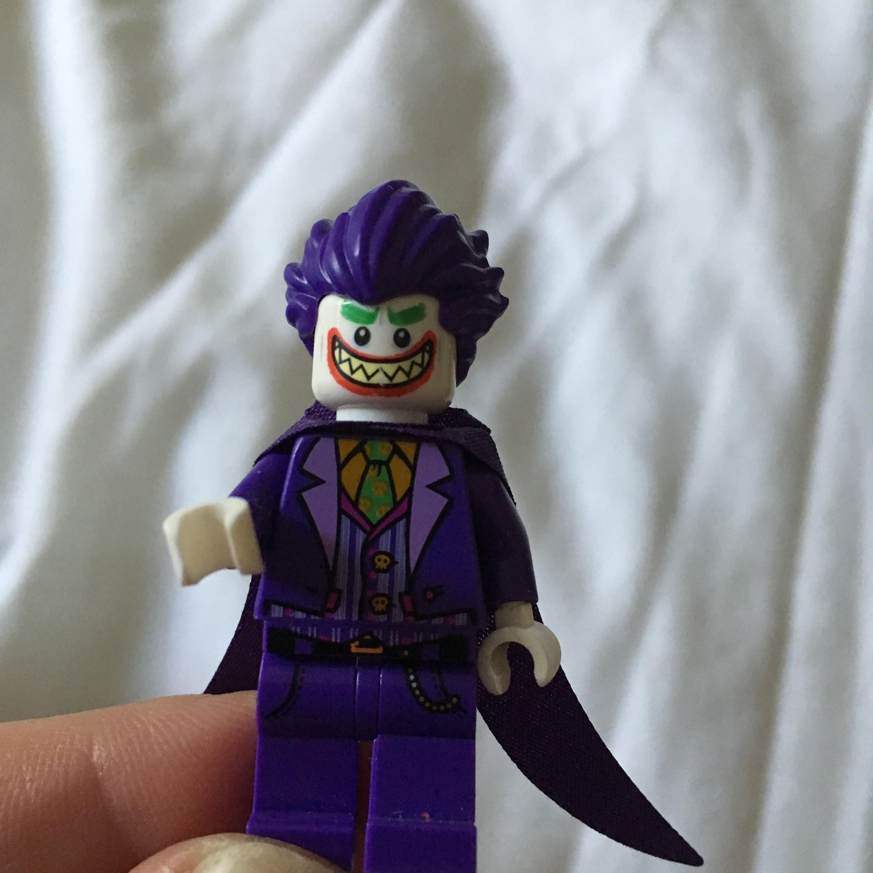 Lego Mini Figures The Joker Purple Hair Part 3
