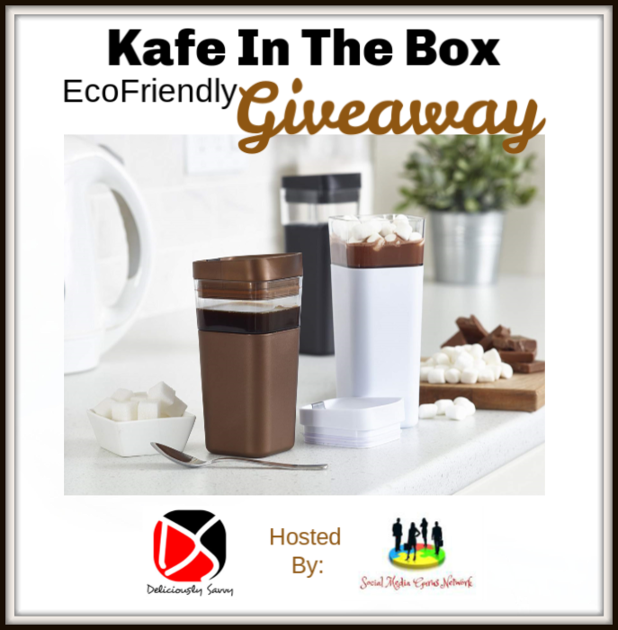 Kafe In The Box EcoFriendly Giveaway (Ends 12/31) @SMGUrusNetwork Welcome to the Kafe In The Box EcoFriendly Giveaway (Ends 12/31) 1 winner! This giveaway is part of our Holiday Gift Guide – Stop by to see all the giveaways and great products. Host is Deliciously Savvy My co-hosts for this giveaway are: Michigan Saving & …