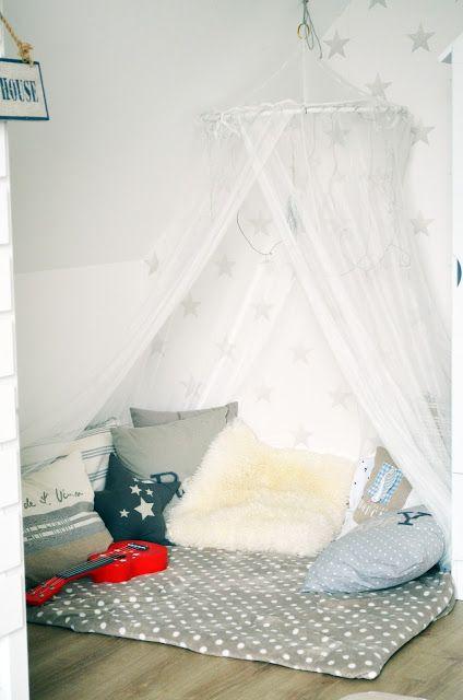 Attraktiv Kuschelecke Kinderzimmer Betthimmel Leseecke