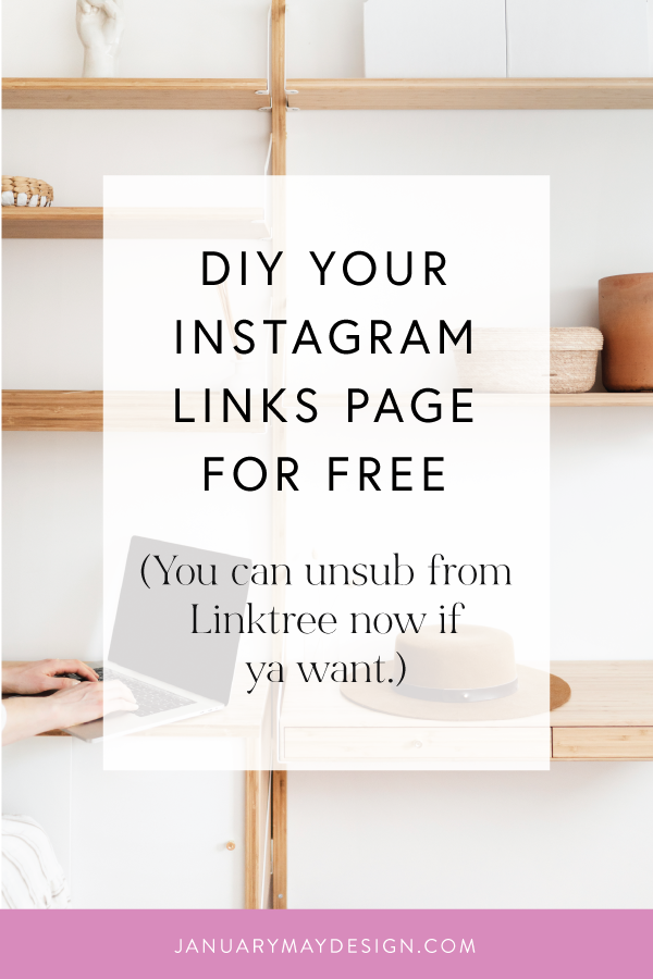 Diy Your Own Instagram Links Page Why You Shouldn T Use Linktree In 2021 Instagram Marketing Tips Instagram Marketing Instagram Tips