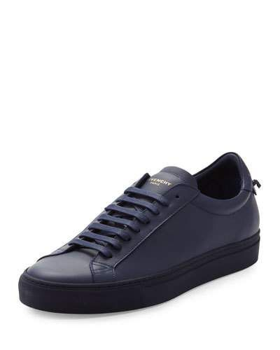 9e97fe64a1196 GIVENCHY Men S Leather Low-Top Sneaker