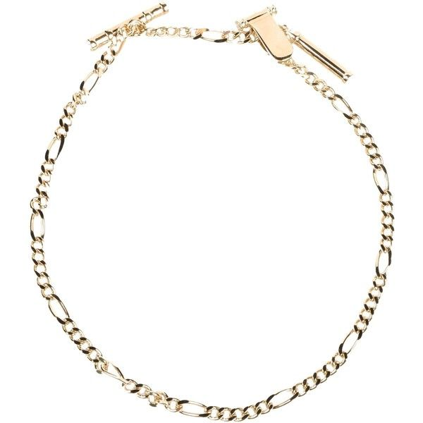 Dsquared2 Necklace ($120) ❤ liked on Polyvore featuring jewelry, necklaces, gold, rhinestone necklace, rhinestone jewelry and dsquared2