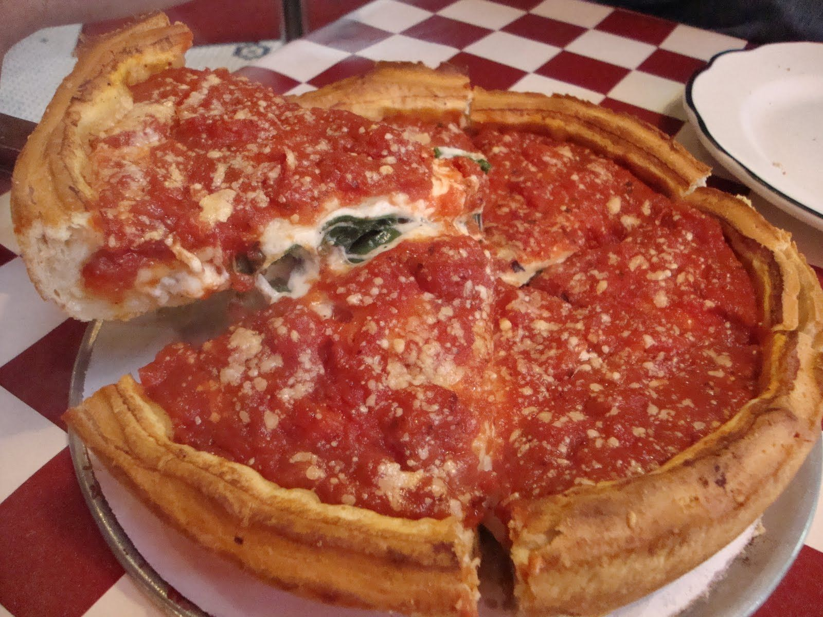 Giordanos pizza in chicago there is nothing like it in