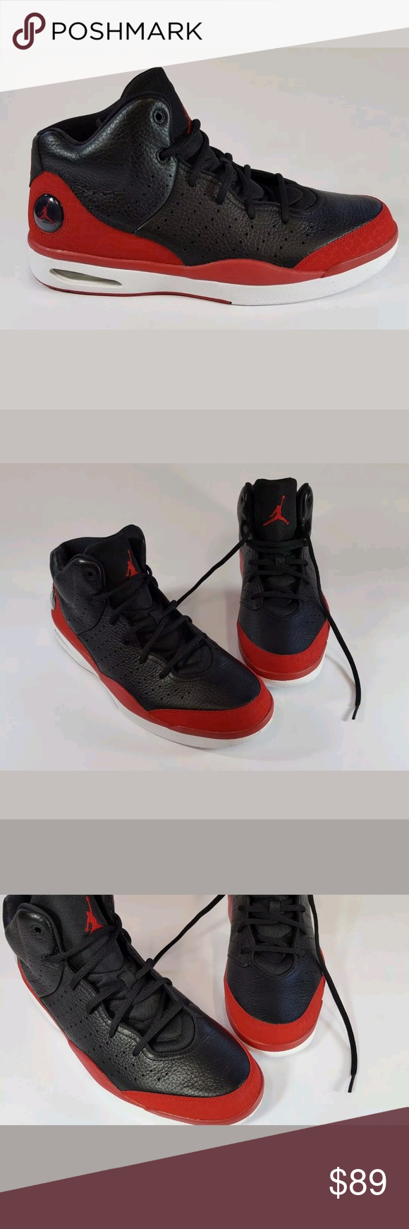 63322d6f247 NIKE AIR JORDAN FLIGHT TRADITION 819472 001 Black Brand new only been tried  on. Nike Shoes Athletic Shoes