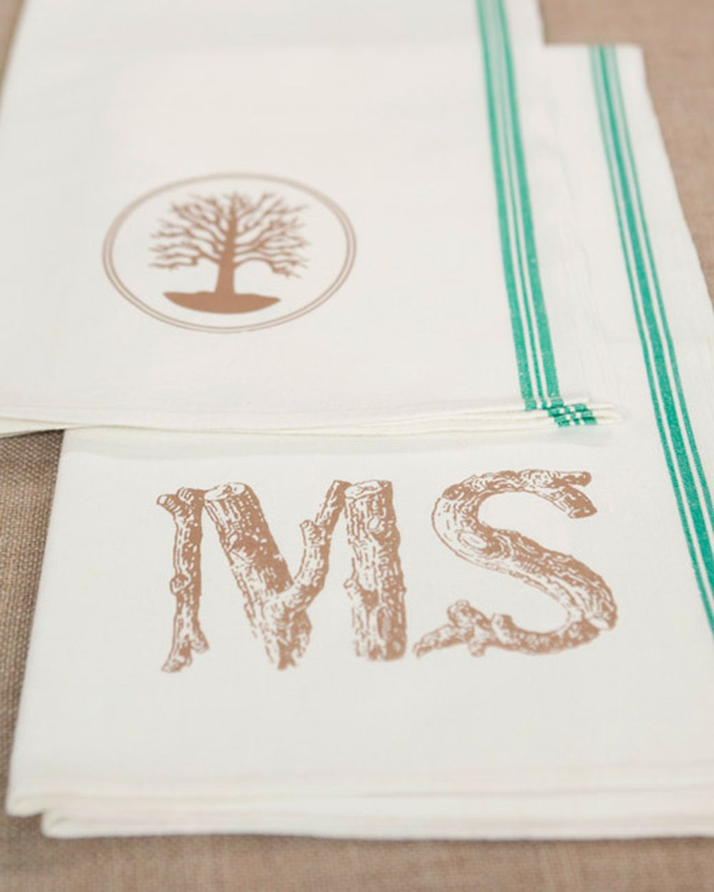 Personalized Tea Towel Craft | Towel crafts, Towels and Clip art