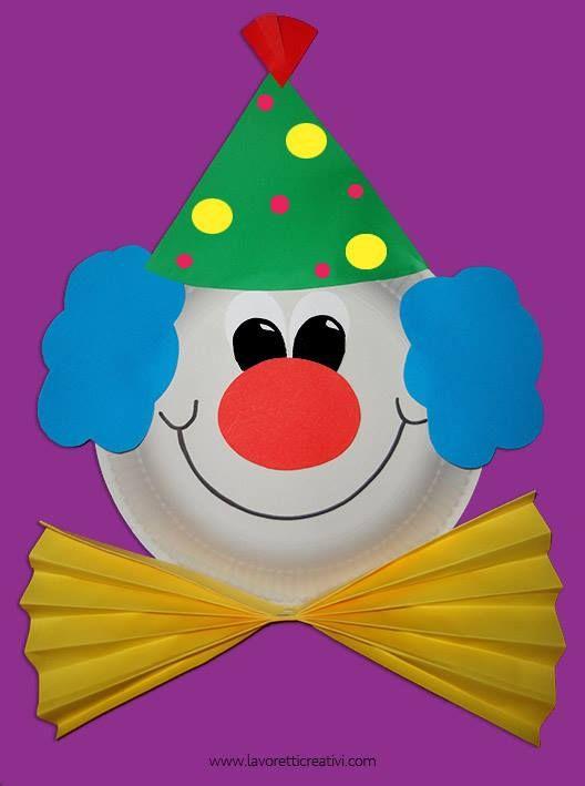 clown van karton bord  sc 1 st  Pinterest & clown van karton bord | summer camp | Pinterest | Crafts Paper ...