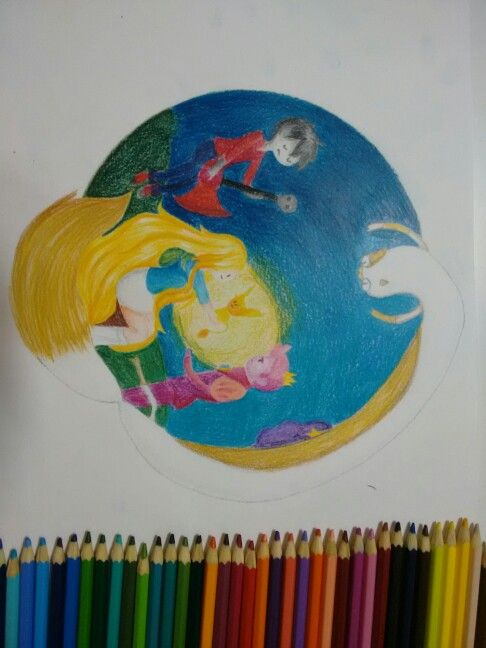 Adventure time -fionna and cake