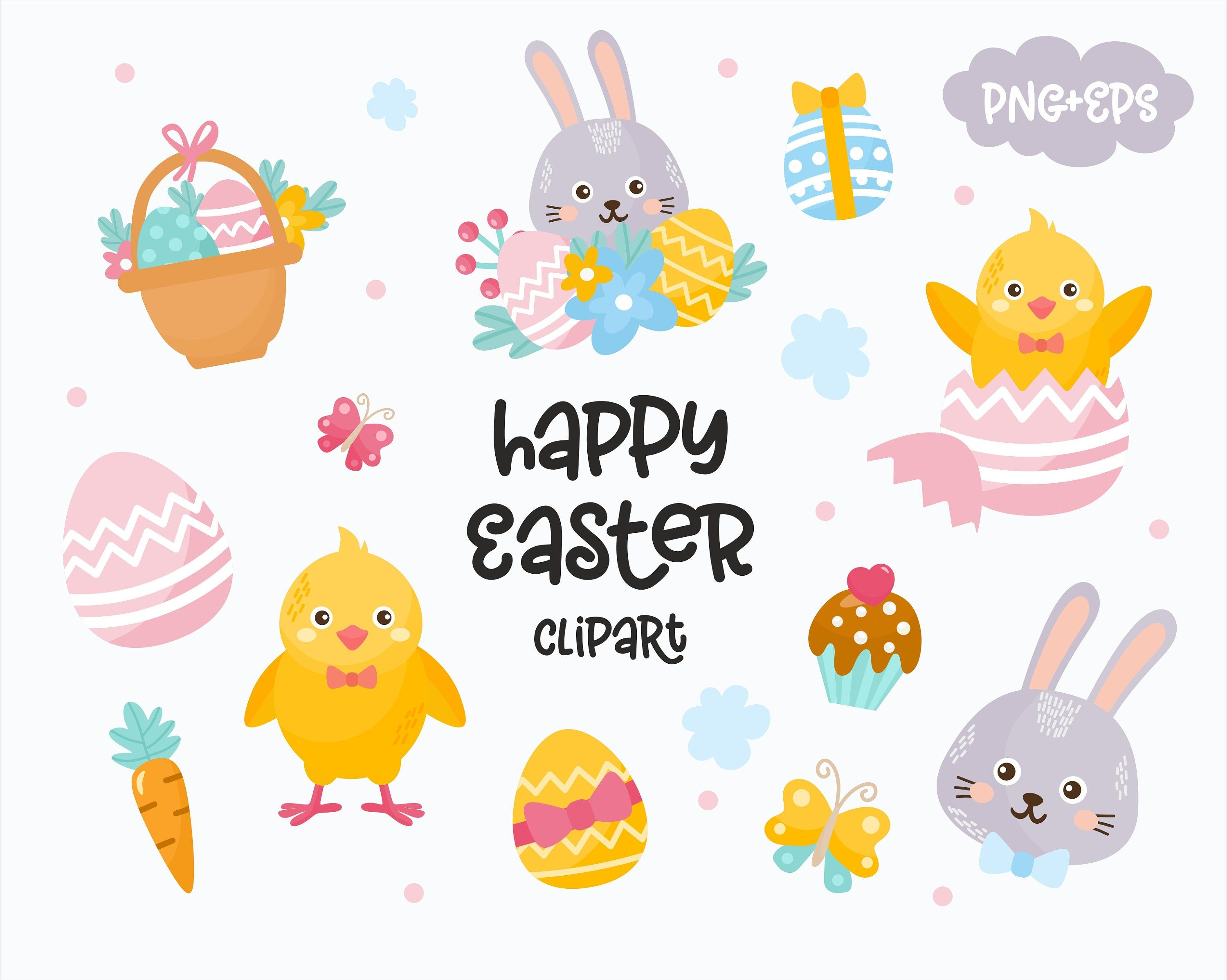 13+ Happy easter clipart images ideas