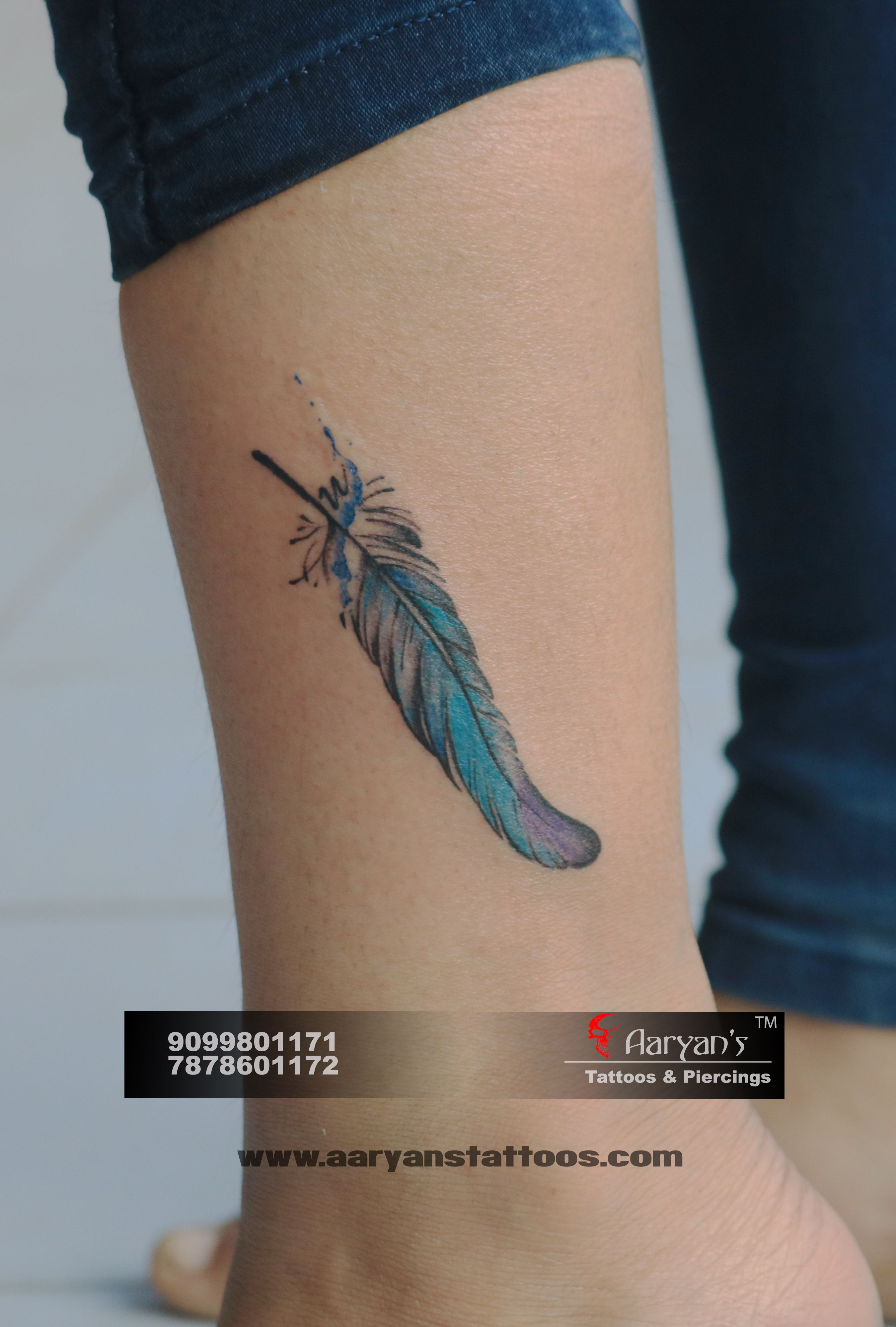 """""""Feather appears when angel's are near."""" Beautiful Small"""
