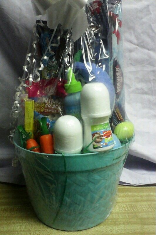 Spiderman easter basket with avon kids naturals for sale spiderman easter basket with avon kids naturals for sale negle Images