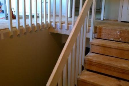Best October Dim Star Stair Upgrade Doityourself Com 400 x 300