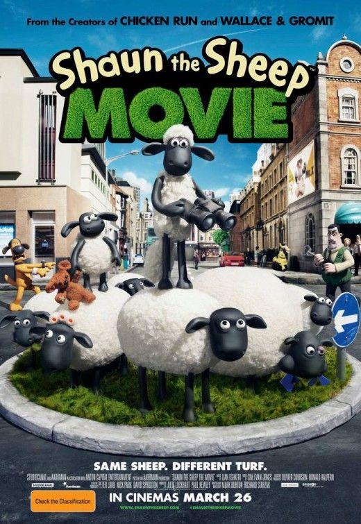 Shaun The Sheep Movie Poster 4 Shaun The Sheep Animation Aardman Animations