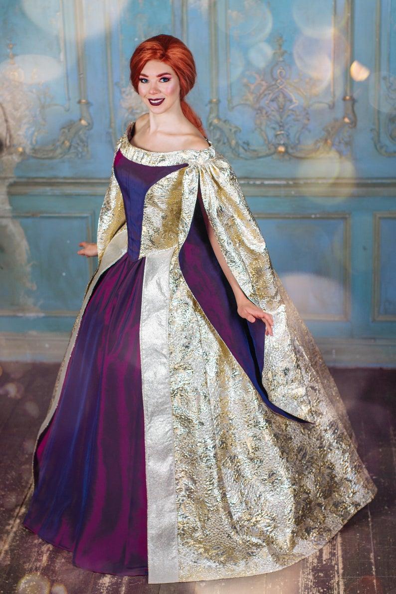 Romanov Halloween 2020 Anastasia Romanov inspired version Dress Halloween costume for