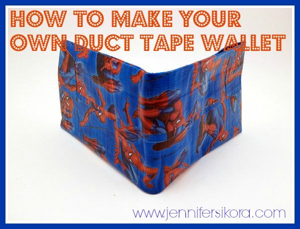 How to Make Your Own  DucT Tape® Wallet -