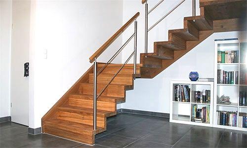 Treppenbau Schmidt treppenbau schmidt plz 56462 höhn holztreppe in faltwerkoptik