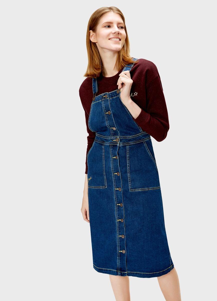 71a2878f75d Купить Джинсовый сарафан (LR2R62) в интернет-магазине одежды O STIN ...