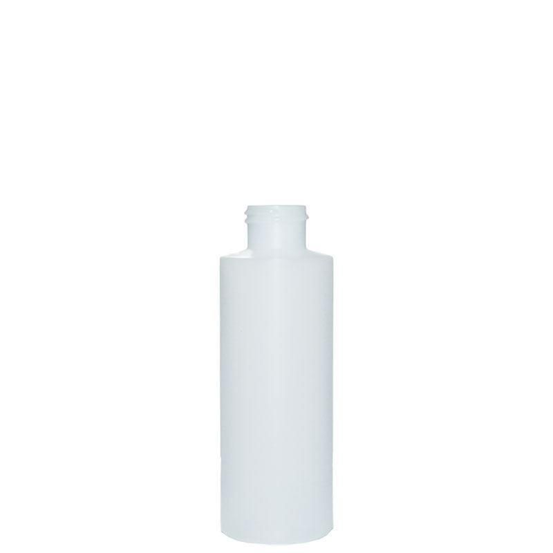 4 oz. Natural Plastic Cylinder with No Closure