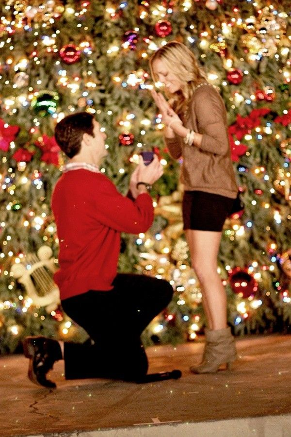Engagement Ring In Christmas Ornament Part - 18: Say Yule Be Mine With These Christmas Proposal Ideas