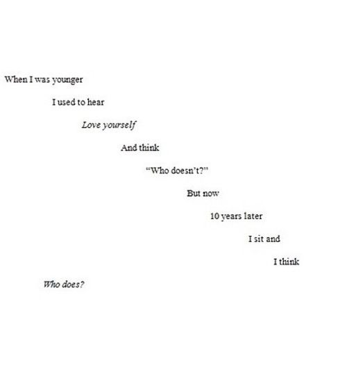Sad Quotes About Depression: Love Cutting Yourself - Google Search
