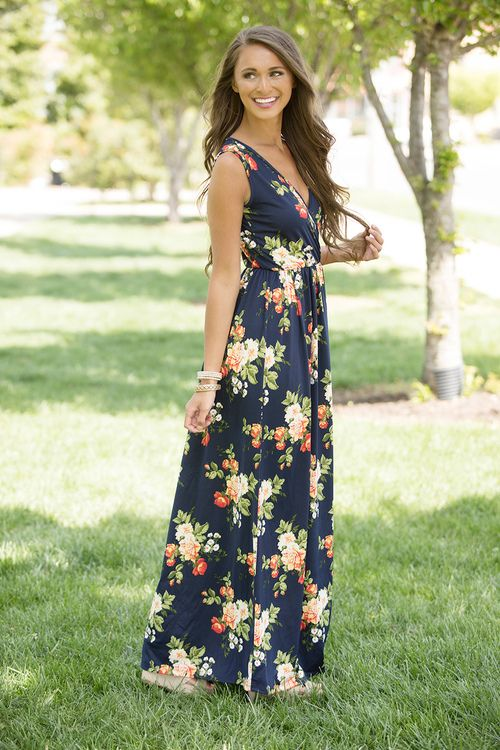 Just To Be With You Maxi Dress - The Pink Lily