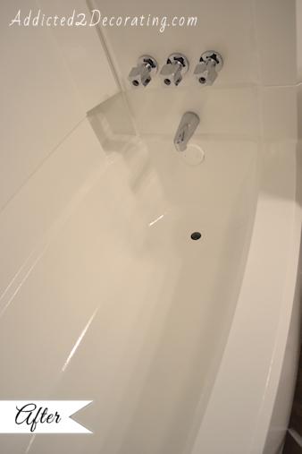 Diy Painted Bathtub Painting Bathtub Diy Home Repair