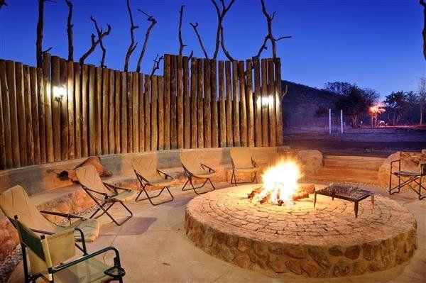Kilima Lodge Limpopo | Outdoor fire, Game lodge decor ... on Modern Boma Ideas  id=38875