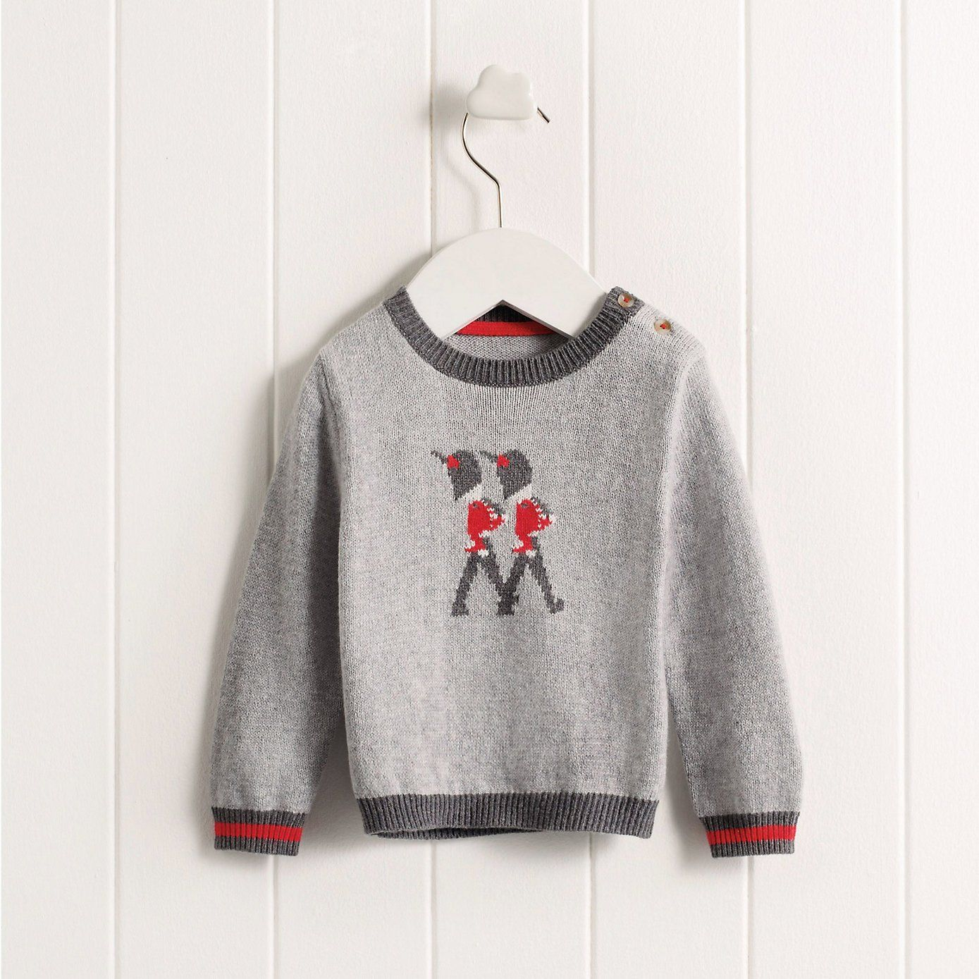 Kids Christmas Jumpers Baby Boys Soldier Jumper The