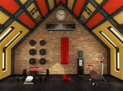 feng shui color suggestions for a high energy workout room