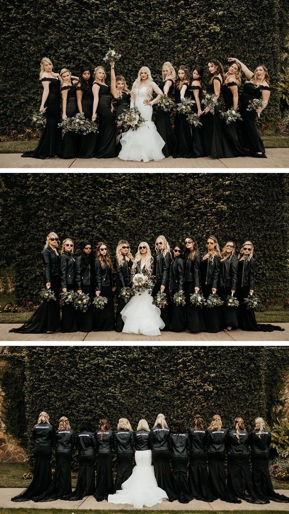 34 Custom Bridal Leather Jackets Which Will Rock T