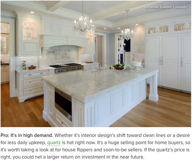 Quartz Granite Or Countertops