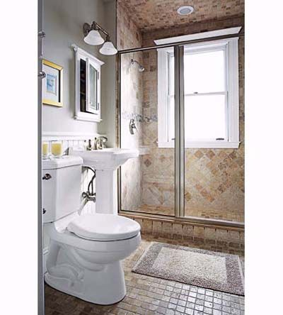 Remodel Bathroom With Window In Shower solution to the large window in the shower simple diy cover