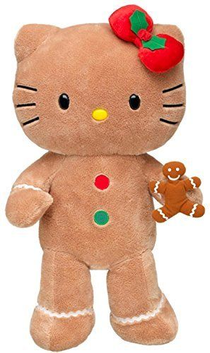 2fb9defecbc Build a Bear Workshop Gingerbread Hello Kitty Teddy Doll Scented Cookie 18  in. Stuffed Plush LE Holiday Toy Animal   Check out this great product.