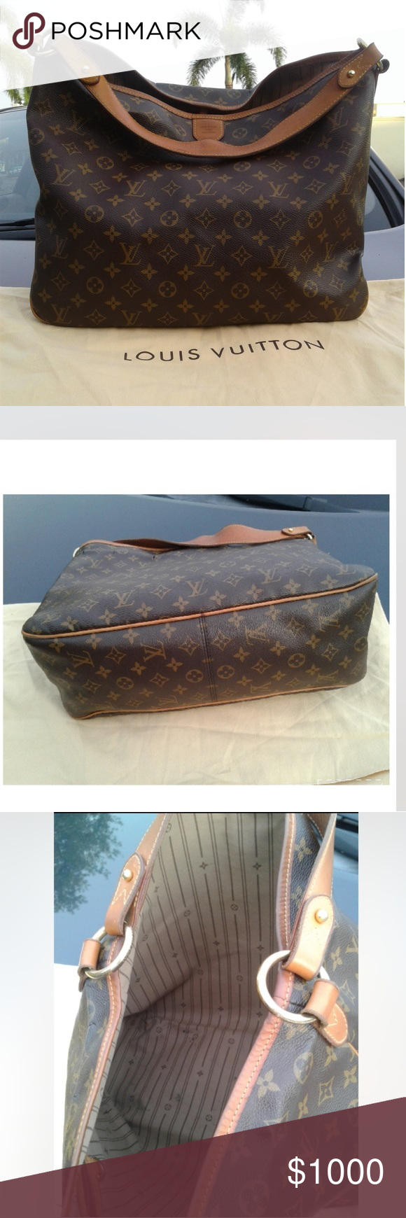 36338cf7460 Authentic Louis Vuitton Delightful Purse 100% authentic Guarantee. Item  will be verified authentic by