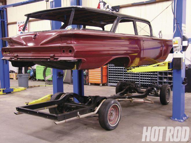 1960 Chevy Brookwood - 'Bagged Wagon - Hot Rod Magazine