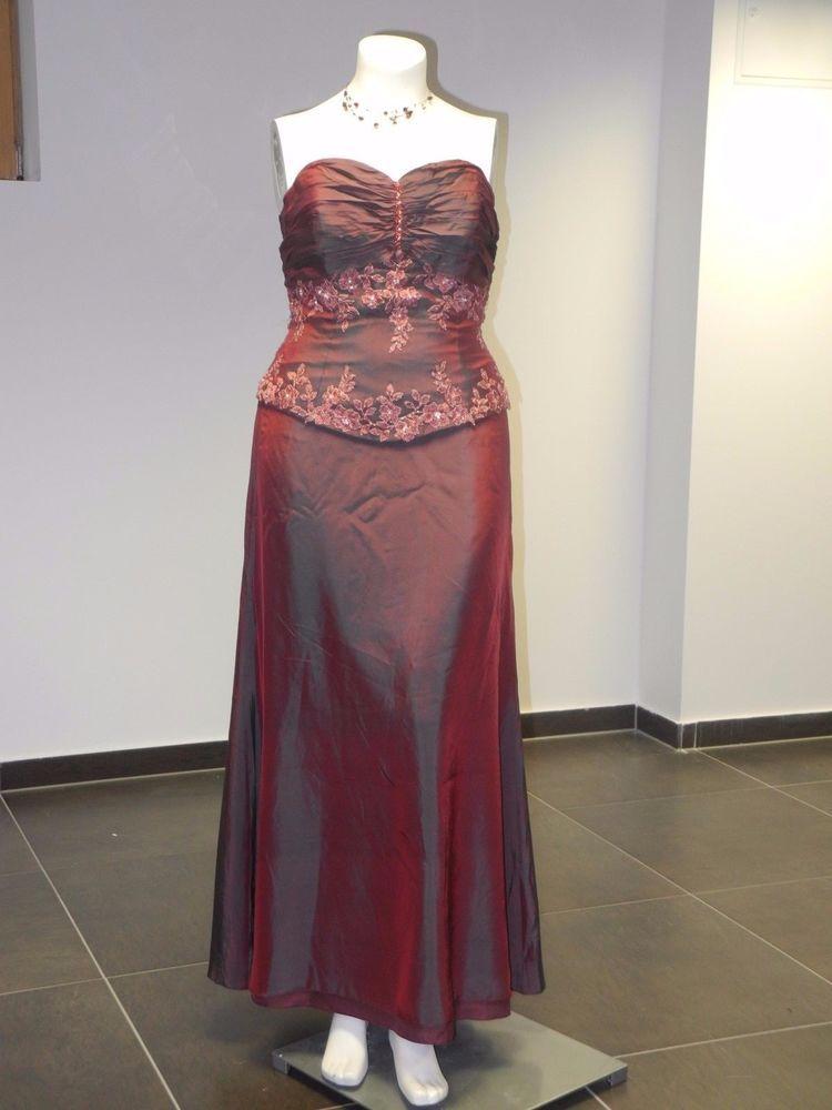 Edel Abendkleid Brautkleid (Ausstellungsstück ) Belsoie gr ...