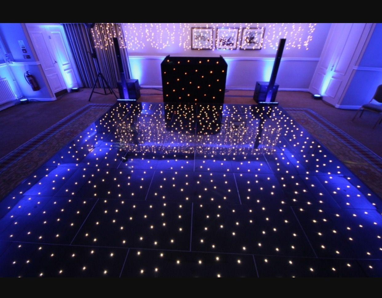 Starlight Dance Floor in black Led dance, Dance floor