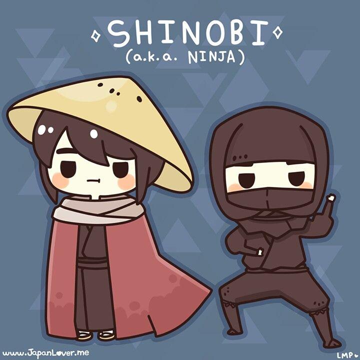 Shinobi   KAWAII >///<   Japanese folklore, Study japanese