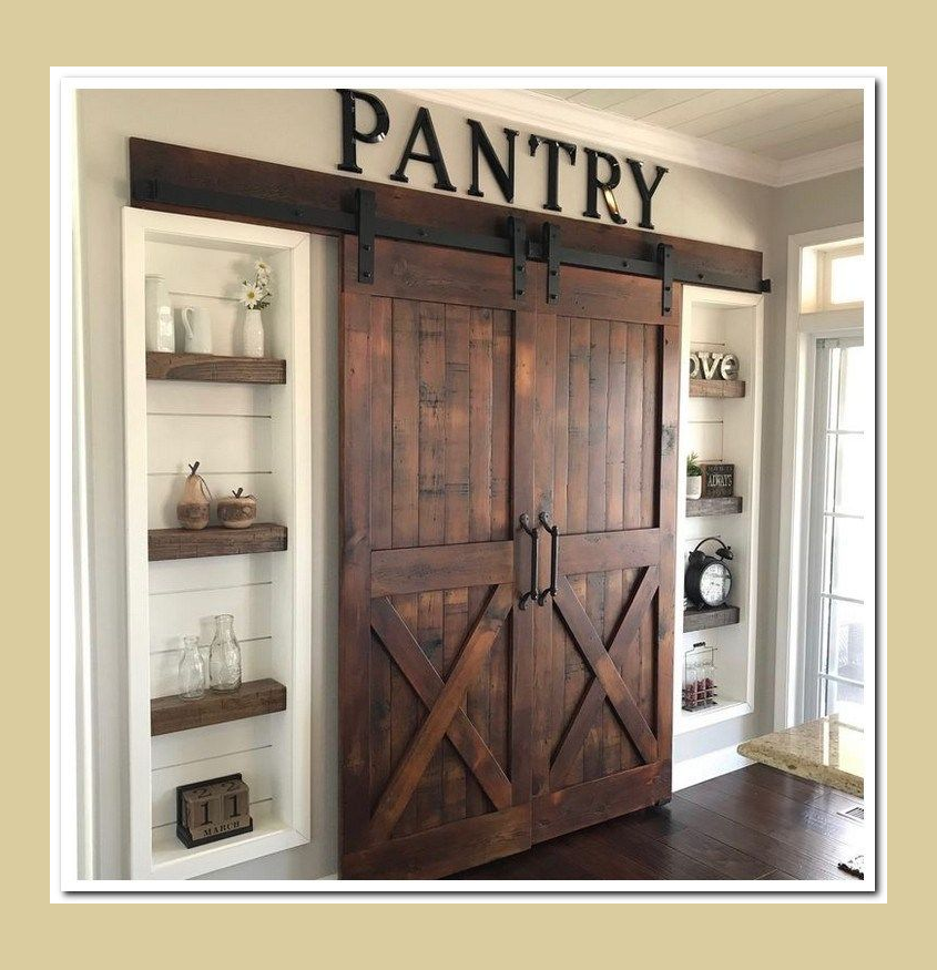 30 Mind Blowing Small Bedroom Decorating Ideas: Pantry Design, Kitchen Pantry Design, Farm