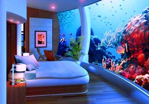 Astounding Aquarium Bedrooms Gallery - Best idea home design .